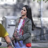 Katrina Kaif - Salman Khan and Katrina Kaif in Ek Tha Tiger being shot on location at Trinity College Pictures