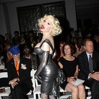 Amanda Lepore - Mercedes Benz New York Fashion Week Spring 2012 - The Blonds