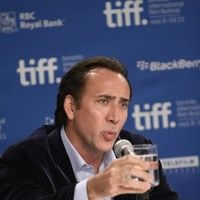 Nicolas Cage at 36th Annual Toronto International Film Festival