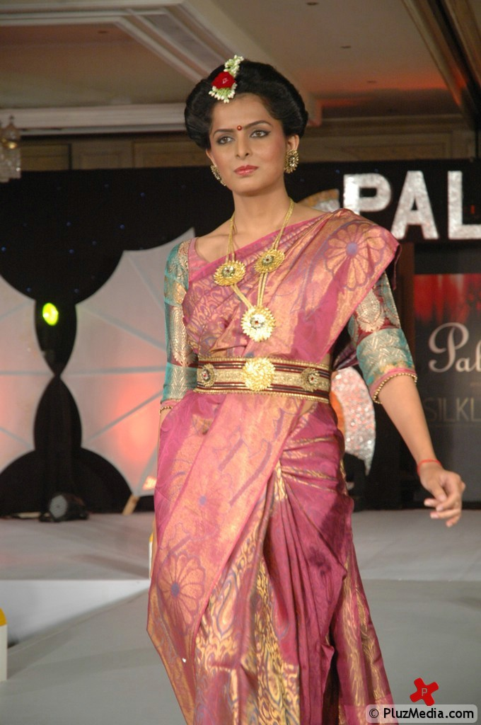 Palam Silk Fashion Show 2011 Pictures