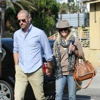 Reese Witherspoon and Jim Toth out and in Santa Monica photos