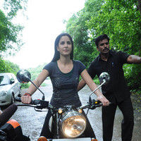 Katrina Kaif takes Hrithik for a ZNMD Bike Ride pictures
