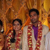 Actress Aparna Pillai Wedding Reception